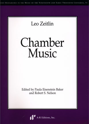 Leo Zeitlin Chamber Music