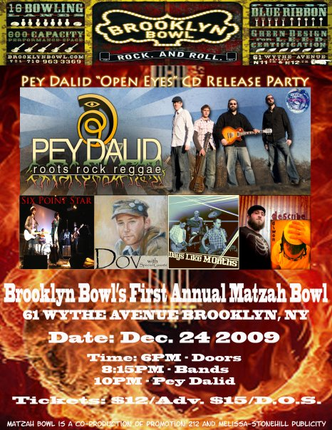 Pey Dalid Concert Poster