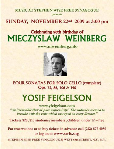 Weinberg sonatas