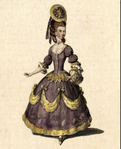 Harriet Abrams as Silvia in Cymon